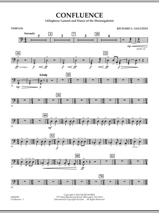 Confluence - Timpani (Concert Band)