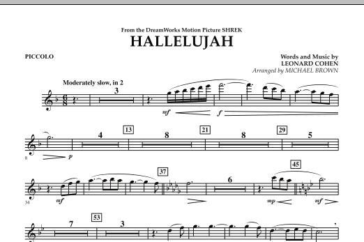 Hallelujah - Piccolo (Concert Band)
