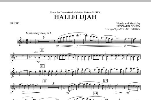 Hallelujah - Flute (Concert Band)
