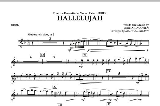 Hallelujah - Oboe (Concert Band)