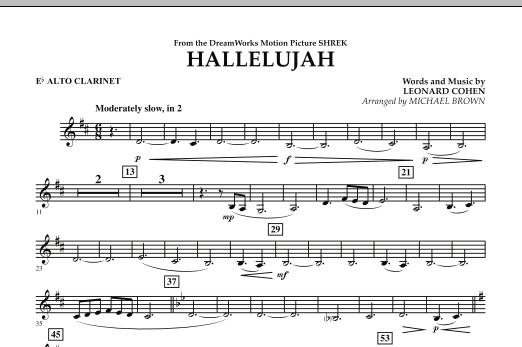 Hallelujah - Eb Alto Clarinet (Concert Band)