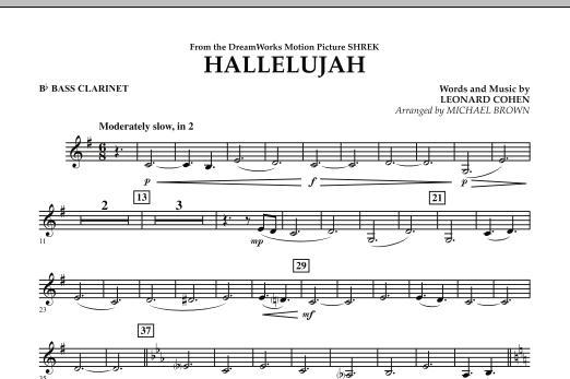 Hallelujah - Bb Bass Clarinet (Concert Band)