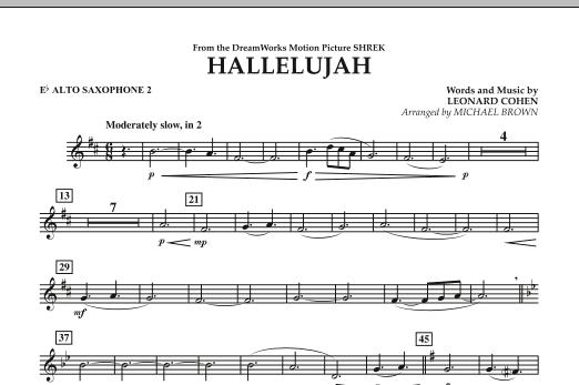 Hallelujah - Eb Alto Saxophone 2 (Concert Band)