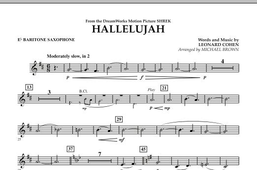 Hallelujah - Eb Baritone Saxophone (Concert Band)