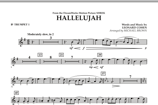 Hallelujah - Bb Trumpet 1 (Concert Band)