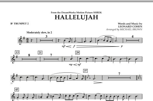 Hallelujah - Bb Trumpet 2 (Concert Band)