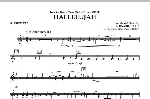 Hallelujah - Bb Trumpet 3 (Concert Band)