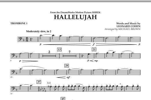 Hallelujah - Trombone 1 (Concert Band)