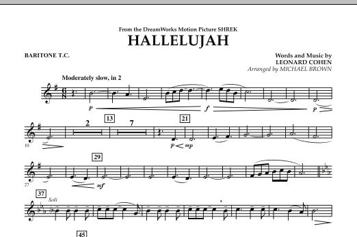 Hallelujah - Baritone T.C. (Concert Band)