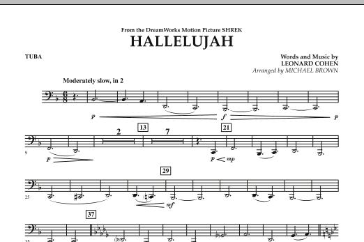 Hallelujah - Tuba (Concert Band)