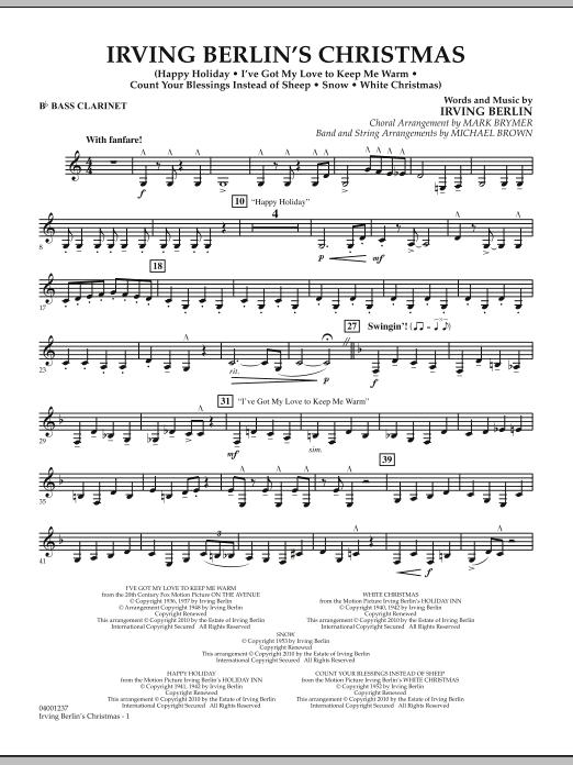 Irving Berlin's Christmas (Medley) - Bb Bass Clarinet (Concert Band)