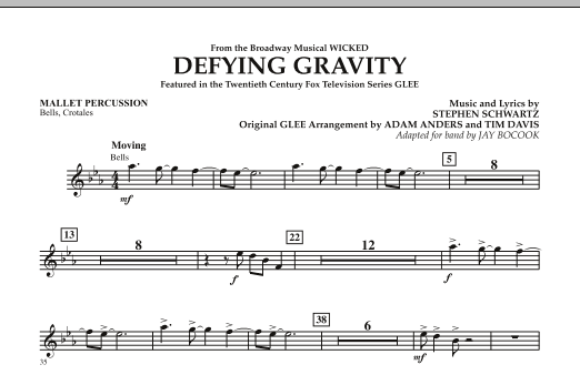 Defying Gravity (from Wicked) - Mallet Percussion (Concert Band)