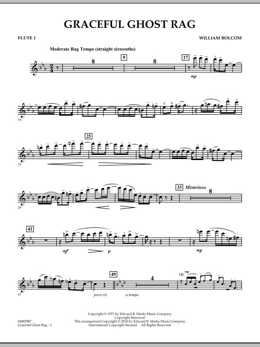 Graceful Ghost Rag - Flute 1 (Concert Band)