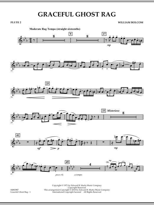 Graceful Ghost Rag - Flute 2 (Concert Band)
