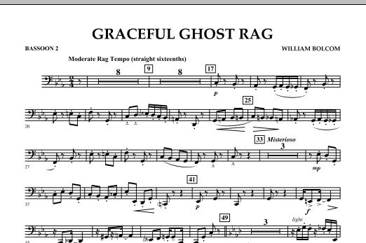 Graceful Ghost Rag - Bassoon 2 (Concert Band)