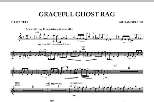 Graceful Ghost Rag - Bb Trumpet 1 (Concert Band)