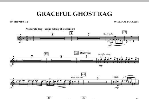 Graceful Ghost Rag - Bb Trumpet 2 (Concert Band)