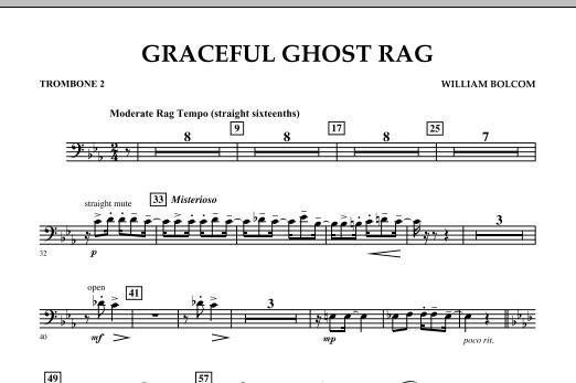 Graceful Ghost Rag - Trombone 2 (Concert Band)