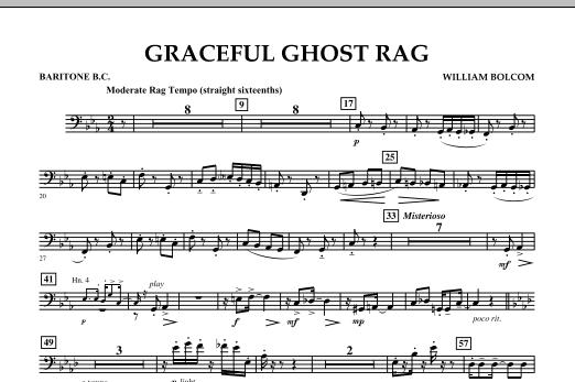 Graceful Ghost Rag - Baritone B.C. (Concert Band)