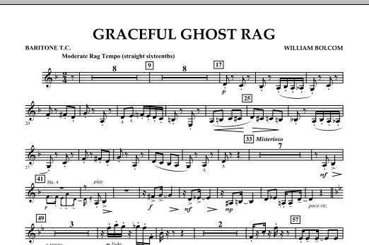 Graceful Ghost Rag - Baritone T.C. (Concert Band)
