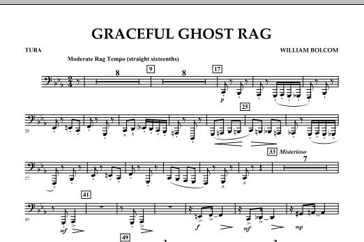 Graceful Ghost Rag - Tuba (Concert Band)