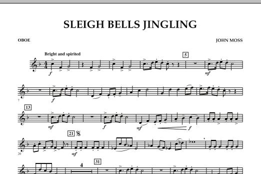 Sleigh Bells Jingling - Oboe (Concert Band)