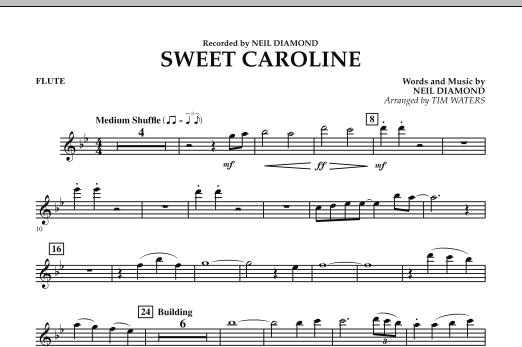 Sweet Caroline - Flute (Concert Band)