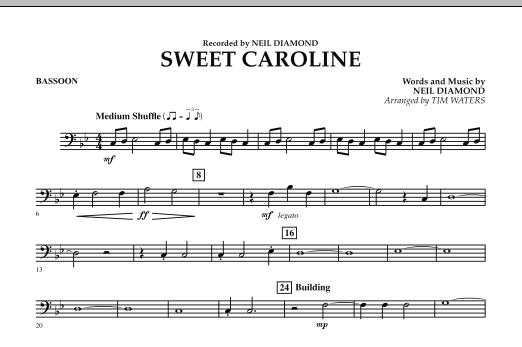 Sweet Caroline - Bassoon (Concert Band)
