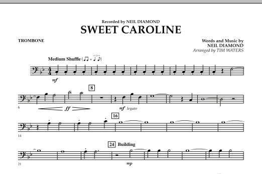 Sweet Caroline - Trombone (Concert Band)