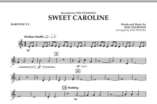 Sweet Caroline - Baritone T.C. (Concert Band)