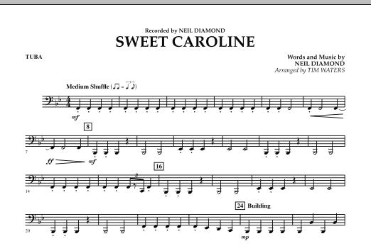 Sweet Caroline - Tuba (Concert Band)