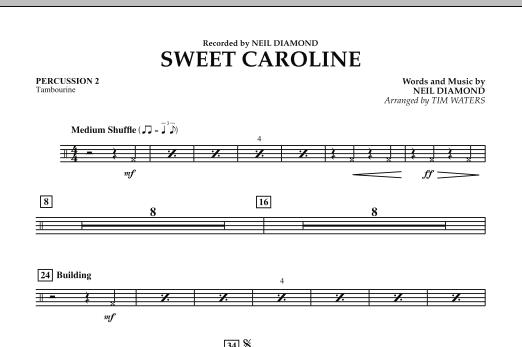 Sweet Caroline - Percussion 2 (Concert Band)
