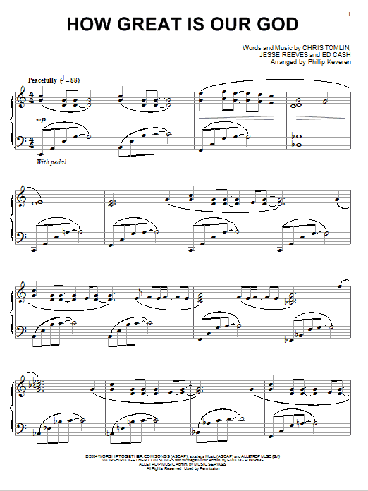 our god reigns chords pdf