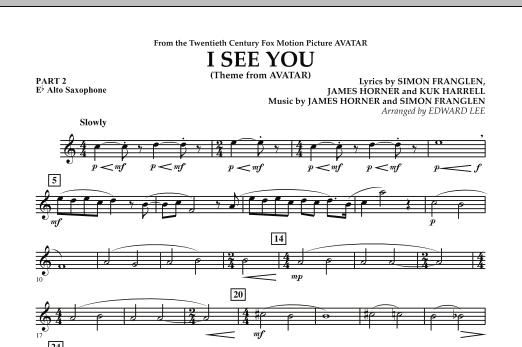 I See You (Theme from Avatar) - Pt.2 - Eb Alto Saxophone (Flex-Band)