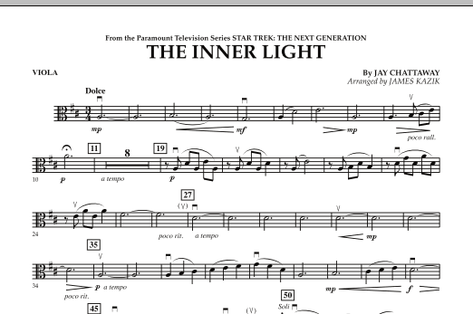 The Inner Light (Solo with Strings) - Viola (Orchestra)