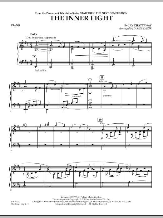 The Inner Light (Solo with Strings) - Piano (Orchestra)