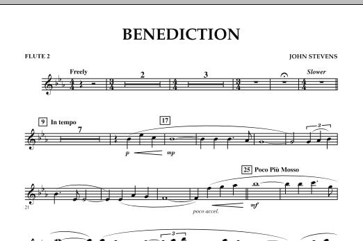 Benediction - Flute 2 (Concert Band)