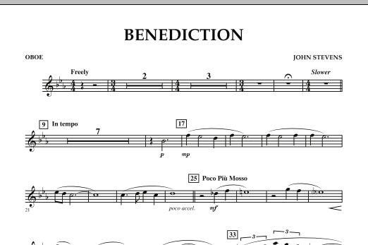 Benediction - Oboe (Concert Band)