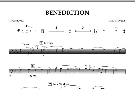 Benediction - Trombone 2 (Concert Band)