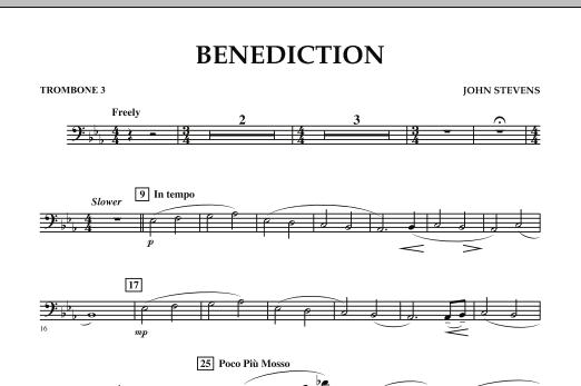 Benediction - Trombone 3 (Concert Band)