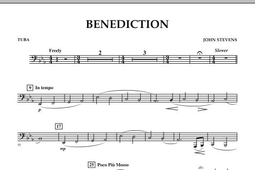 Benediction - Tuba (Concert Band)