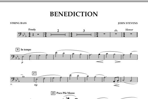 Benediction - String Bass (Concert Band)