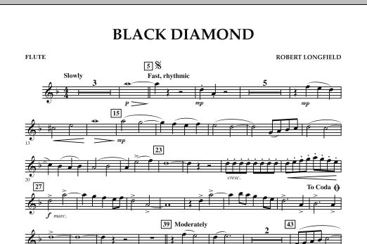 Black Diamond - Flute (Concert Band)