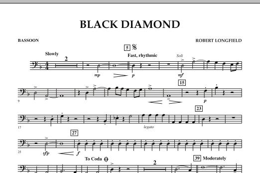 Black Diamond - Bassoon (Concert Band)
