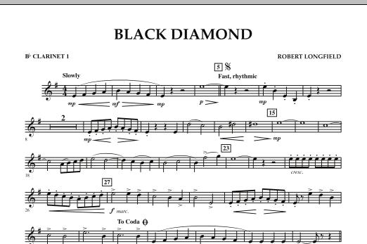 Black Diamond - Bb Clarinet 1 (Concert Band)