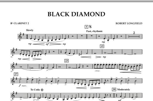 Black Diamond - Bb Clarinet 2 (Concert Band)