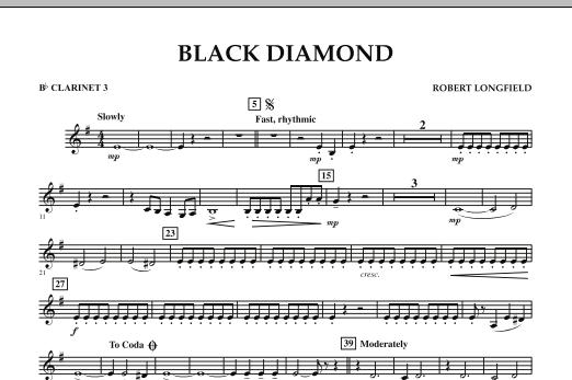 Black Diamond - Bb Clarinet 3 (Concert Band)