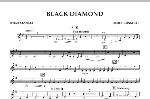 Black Diamond - Bb Bass Clarinet (Concert Band)