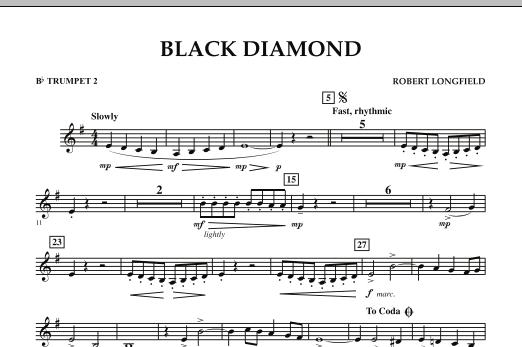 Black Diamond - Bb Trumpet 2 (Concert Band)
