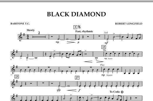 Black Diamond - Baritone T.C. (Concert Band)